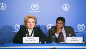 «Какова роль женщин-парламентариев в решении политических, социальных и экономических проблем?»